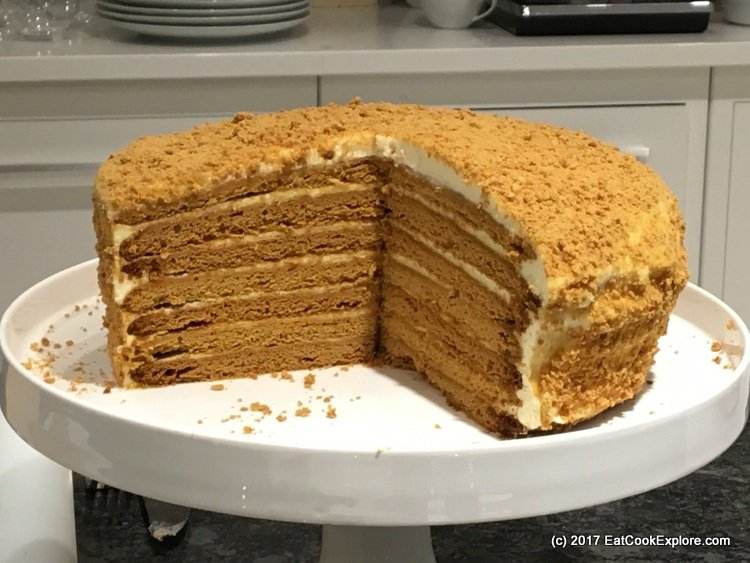 Kenwood KMix Russian Honey Cake