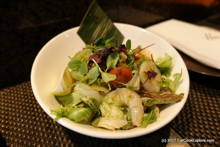 Mango Tree Harrods Prawn salad