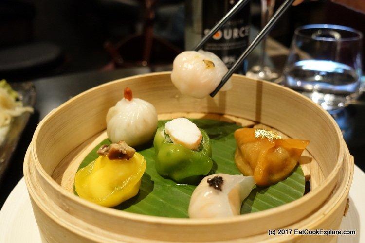 Chai Wu Harrods Dim Sum Platter