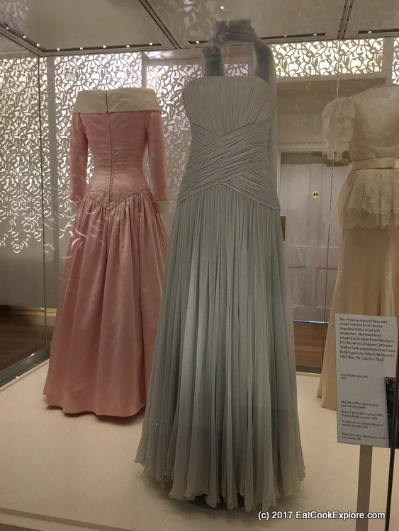"""This is a Catherine Walker design inspired by Grace Kelly's gown in """"To Catch a Thief"""""""