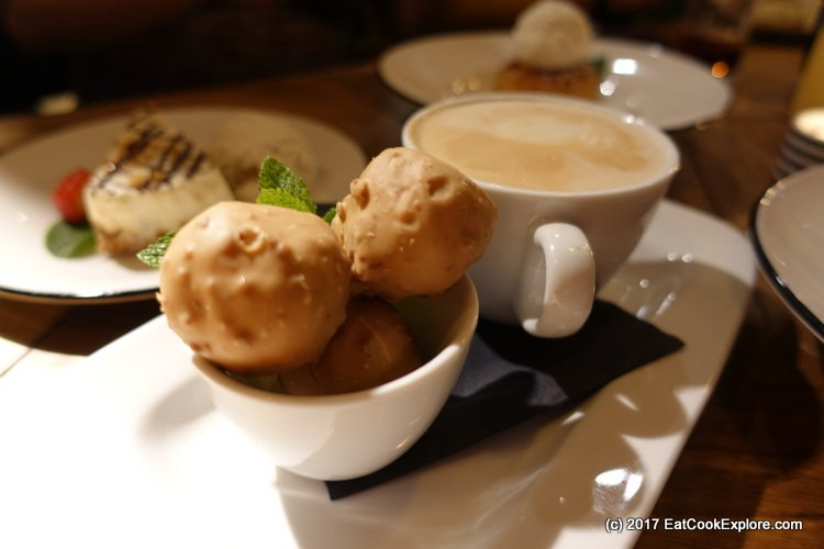 Profiteroles and Coffee