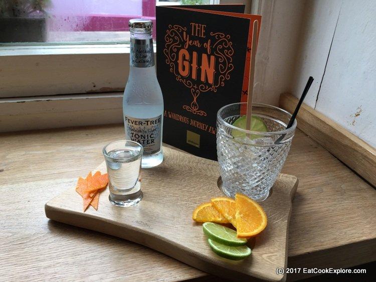 Gin Tasting Flight at Ginhaus