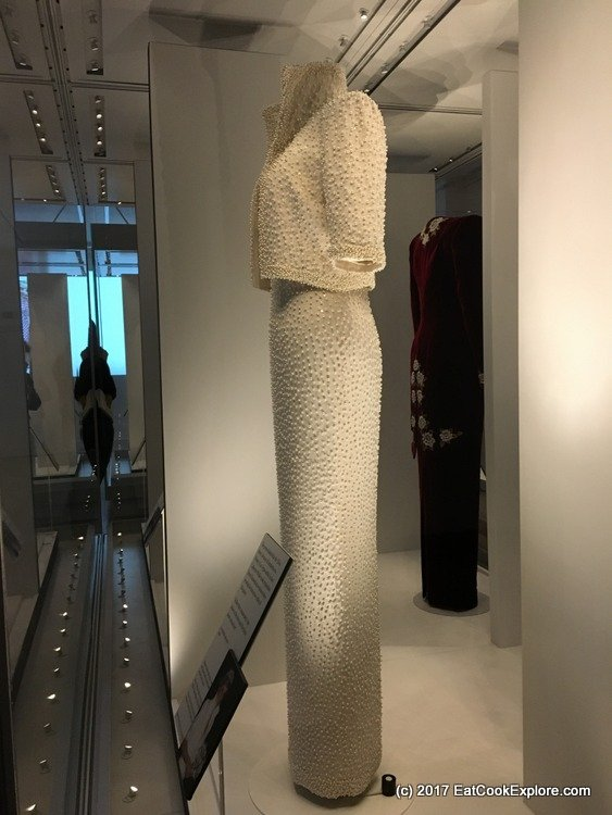 The Elvis Dress - Diana Exhibition