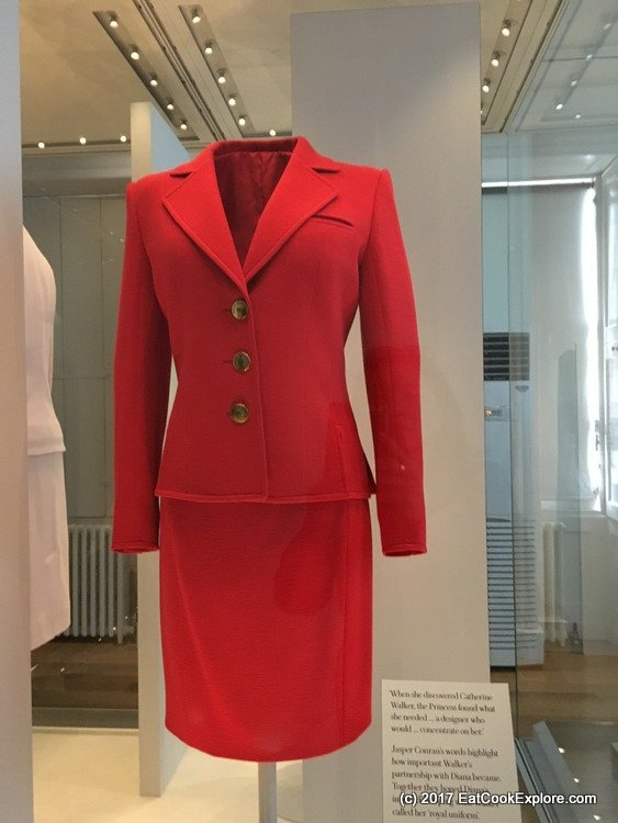 """Princess Diana's """"Royal Uniform"""" a signature look that Jasper Conran and Catherine Walker used to design for her."""