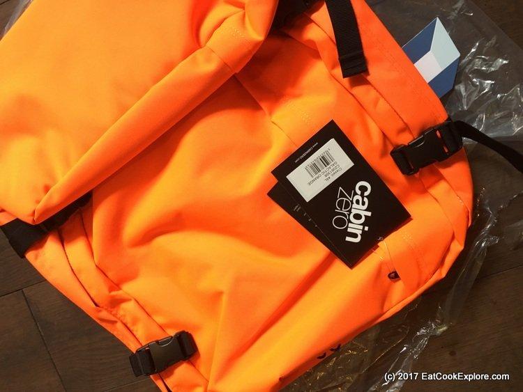 Cabin Zero Bright Orange