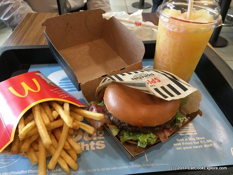 New McDonalds Big American Burgers