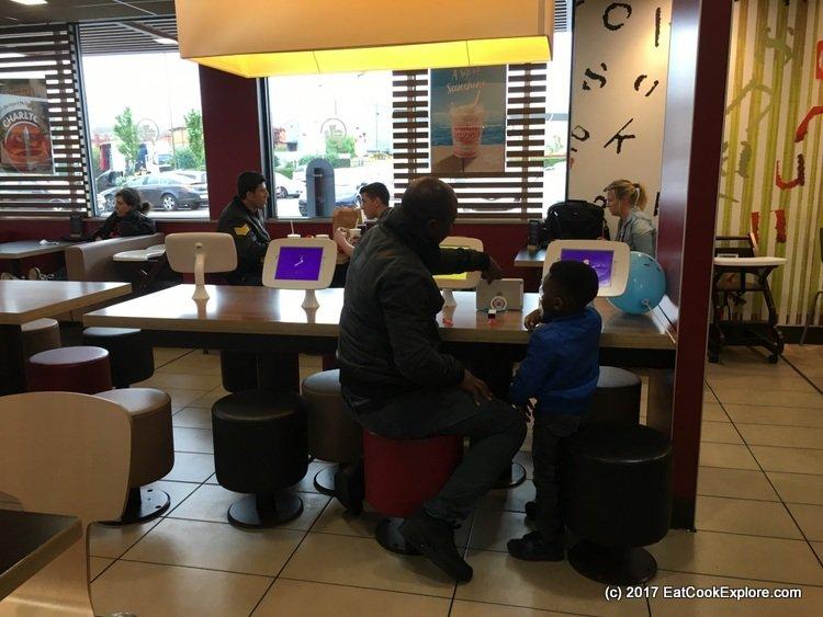 New McDonalds ipads
