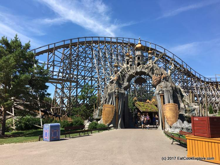 Europa Park Rollercoasters