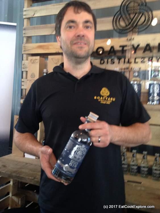 Irish Gin Fest Boatyard Gin