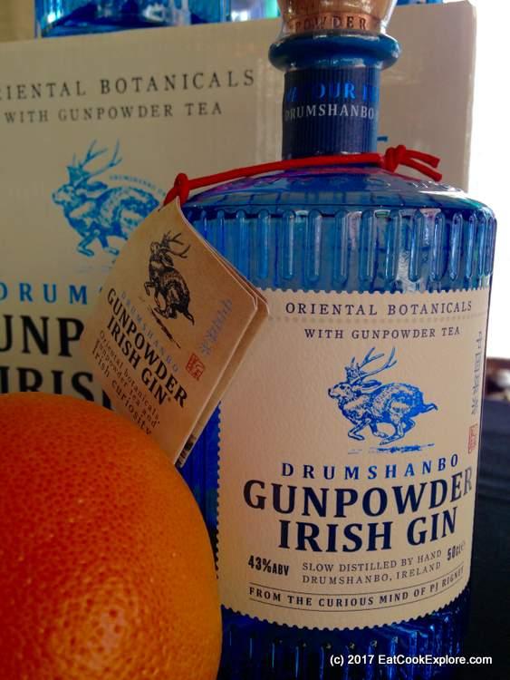 Irish Gin Fest Gunpowder Fin