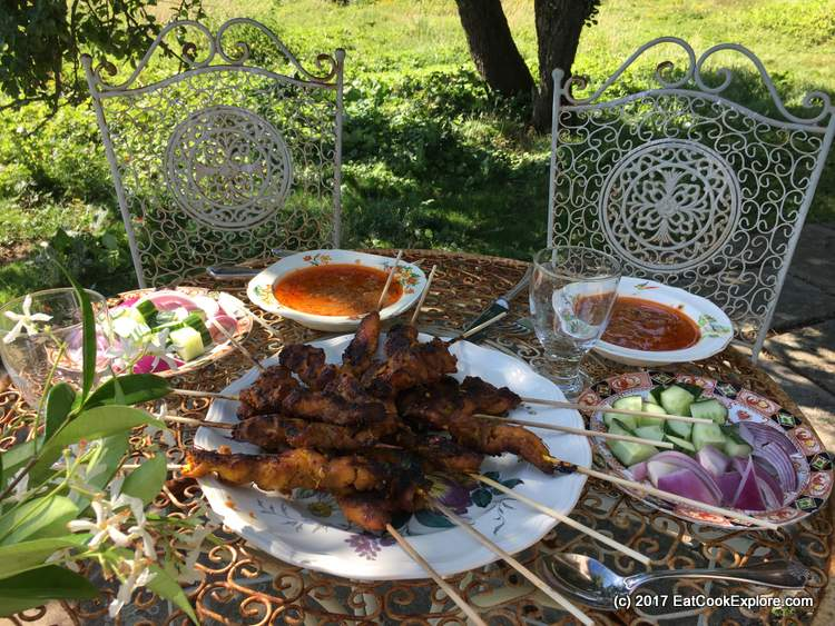 Easy Malaysian Chicken Satay Recipe