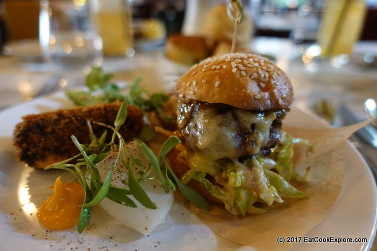 Barbecoa Afternoon Tea Wagyu Sliders