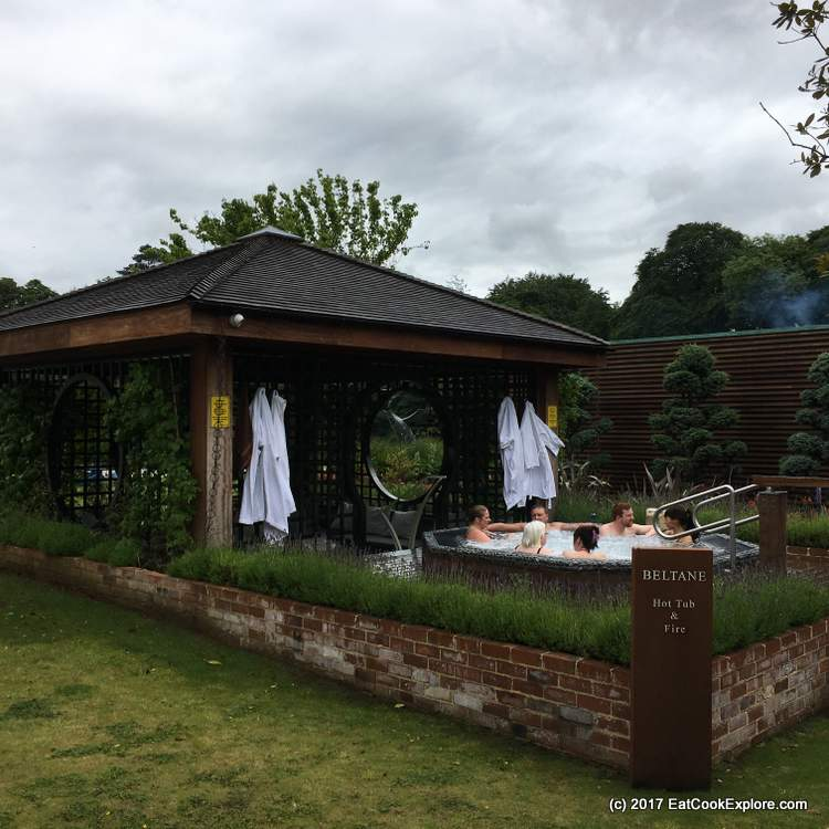 The Beltane Hot Tub and Fire at Galgorm