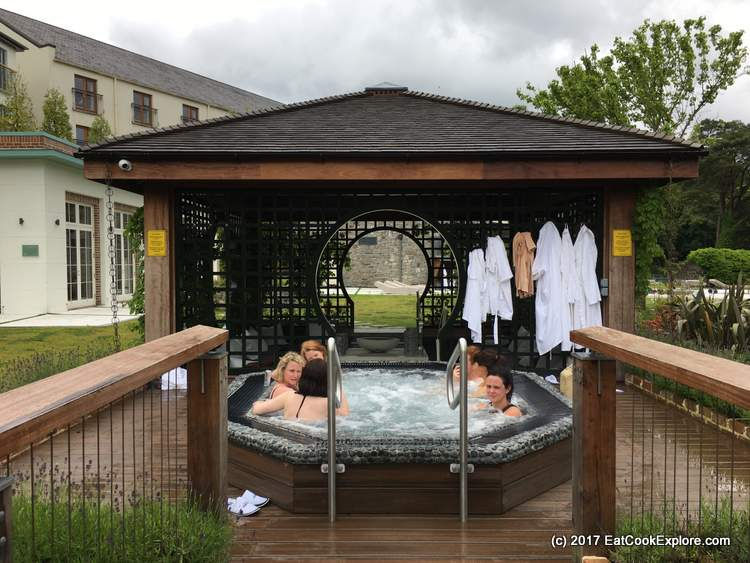 Galgorm Resort and Spa Beltane Fire and Hot Tub