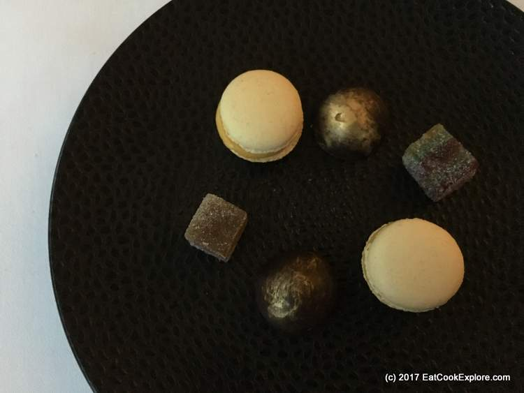 Petit Fours at River Room Galgorm Resort and Spa