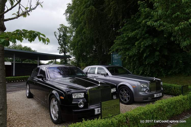 The Rolls Royce's at Galgorm Resort and Spa