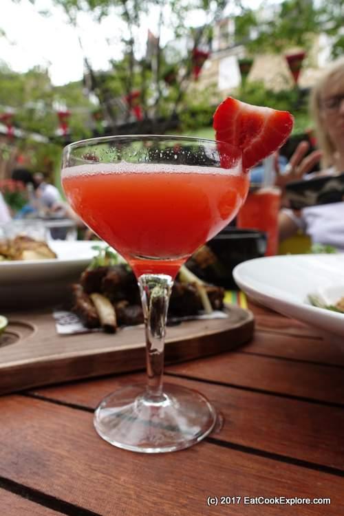 Jam tree rum festical Strawberry Daquiri