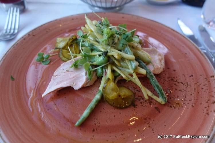 Poached Salmon Salad Roast Restaurant