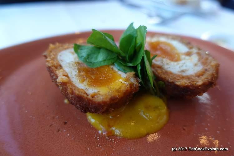 Roast Restaurant Borough Market Review Scotch egg