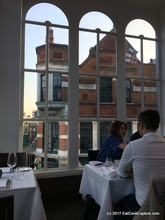 Roast Restaurant Borough Market Review