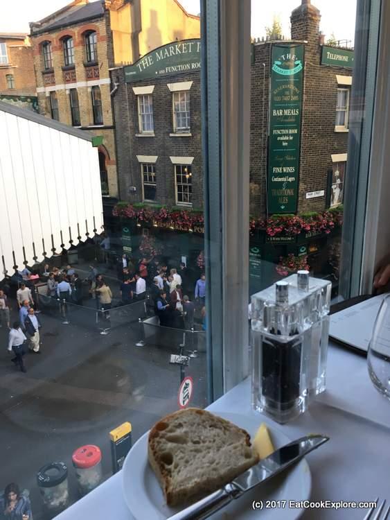 Roast restaurant over looking borough market