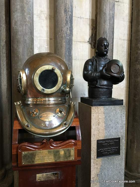 William Walker the diver who saved the Cathedral