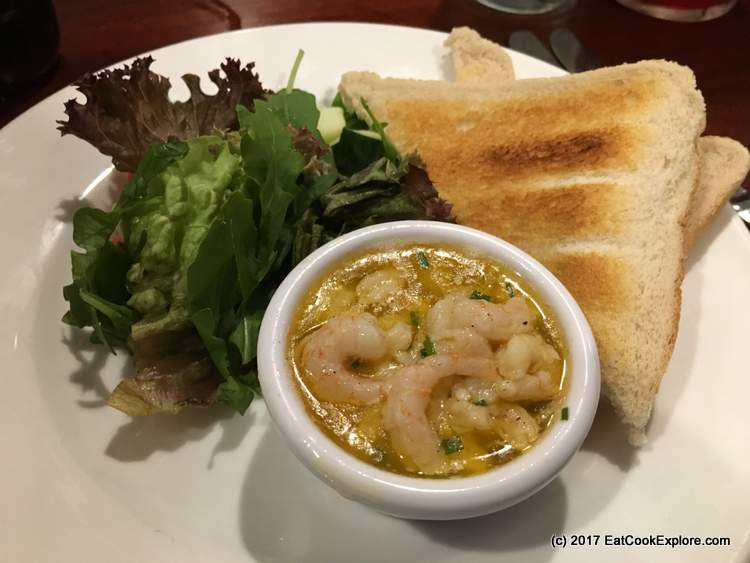 Simpsons Tavern Potted Shrimp