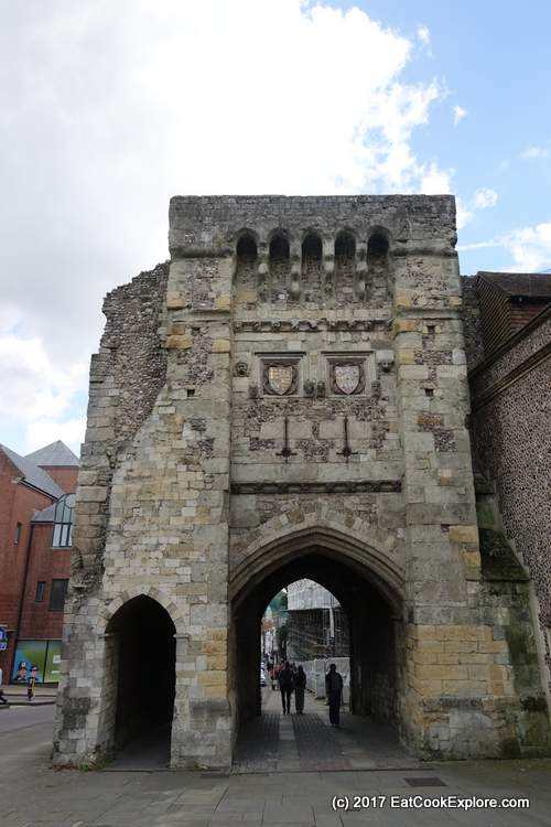 Westgate - now a museum- the last surviving fortification