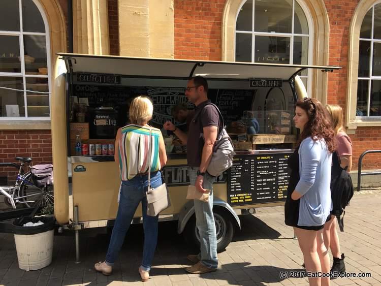 Wicnhester coffee cart