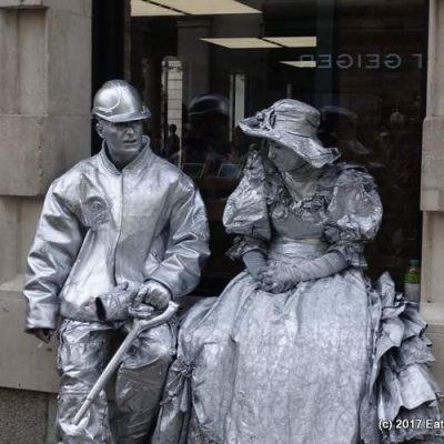 My Sunday Photo: Human Statues in Covent Garden