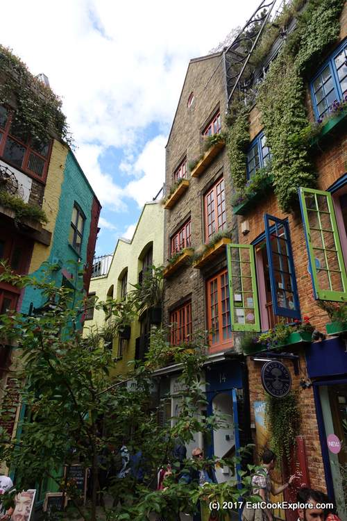 That picture of Neals' Yard that is all over Instagram