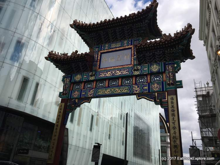 Alternative View of the Chinatown Gate