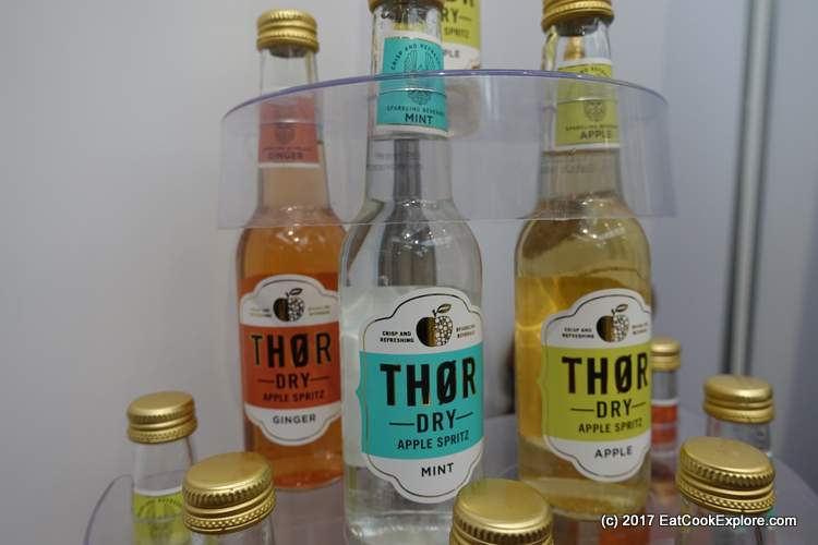Superhero drinks Thor. Loved the apple but the mint one is a great mixer with gin