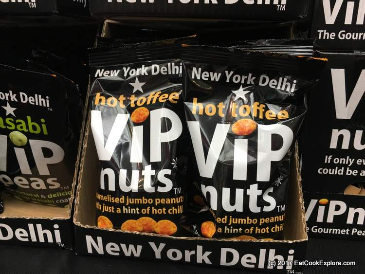 Very moreish sweet and spiced nuts VIP nuts