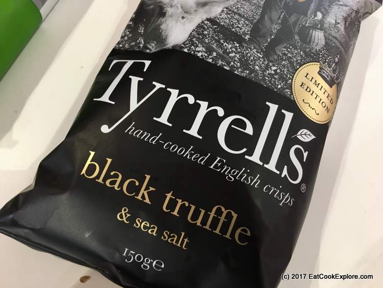 Sepciality and Fine Food Show London Tyrell's Black Truffle Crisps