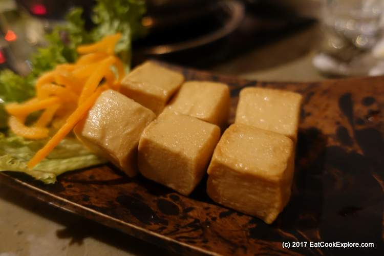 Fish tofu - not really tofu but delicious