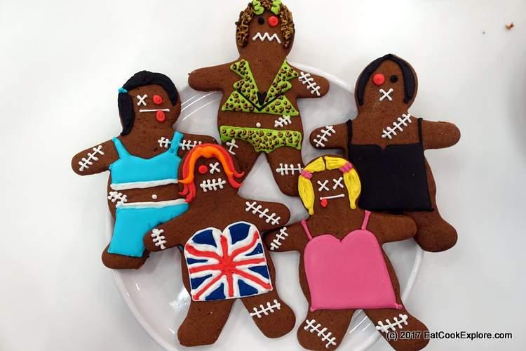 Konditor and cook Halloween cookies Zombie Spice Girls