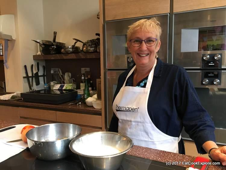 Mary Cadogan Making Jam