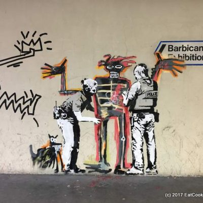 Barbican New Banksy