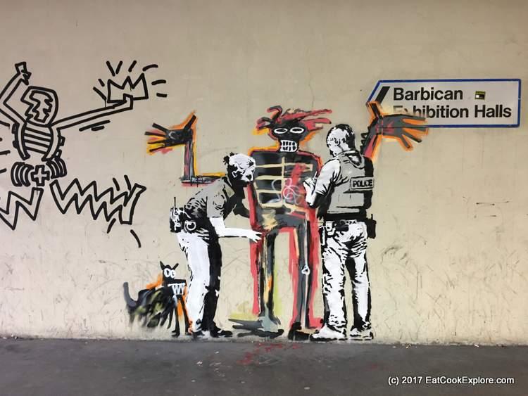 Barbican New Banksy