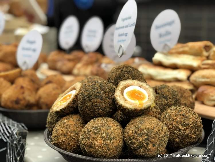 Scotch Eggs Maltby Street Market