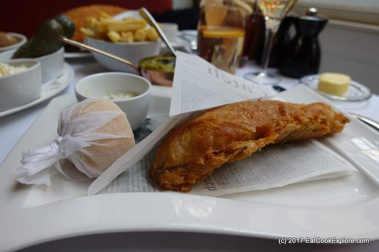 Chameberlain Fish and Chips Cod in Beer Batter