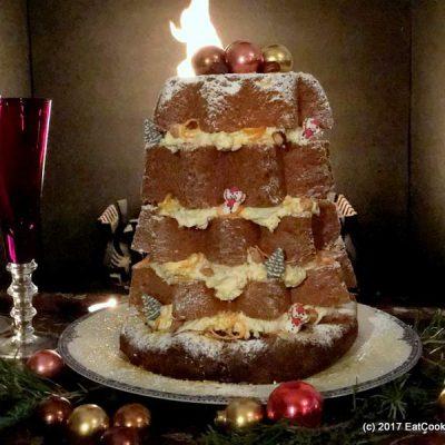 Pandoro Italian Christmas Cake and Roman Christmas Markets