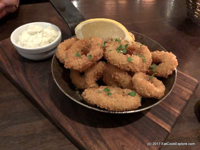 Breadcrumbed Calamari Cote Brasserie