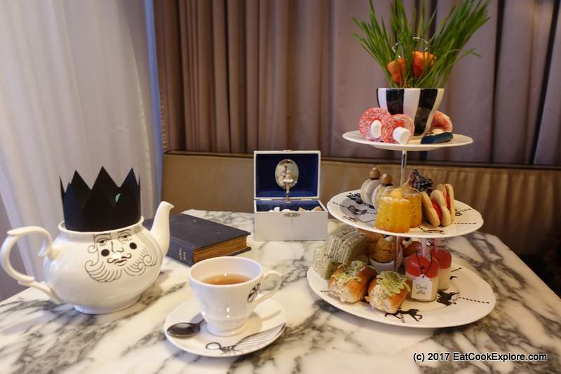 Mad Hatter's Afternoon Tea Sanderson Hotel