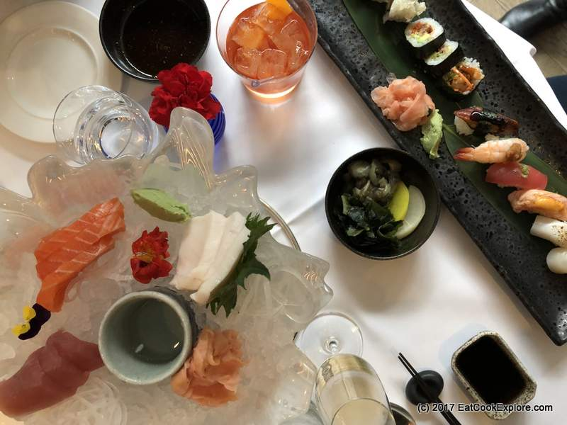 Devonshire Club Sushi in the City