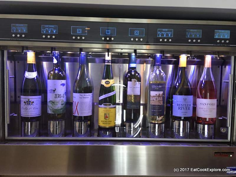 M Wine store Victoria Wine selection by the glass