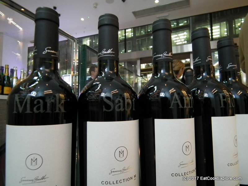 M Wine store Victoria Engraved Bottles