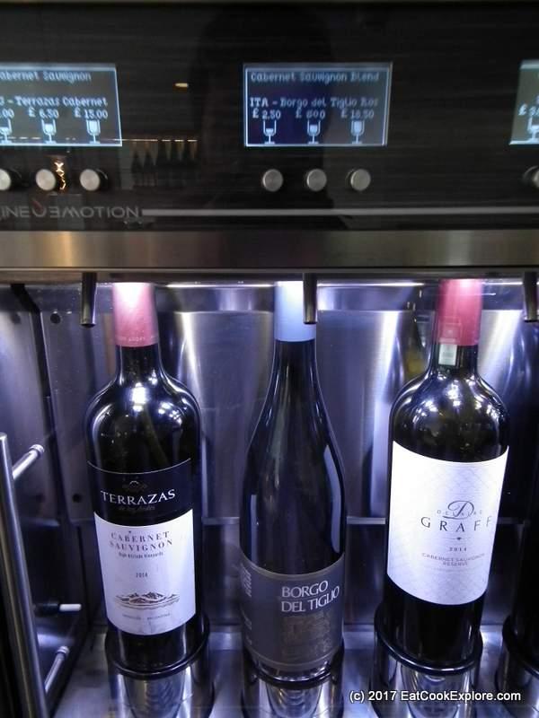 M Wine store Victoria Enomatic Machines