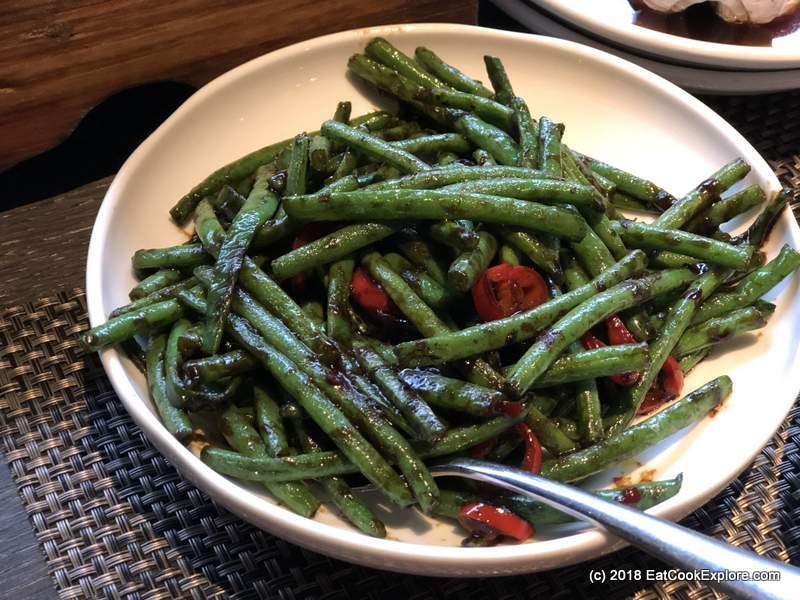 Shikumen Ealing Refined Chinese cooking Szechuan Green Beans